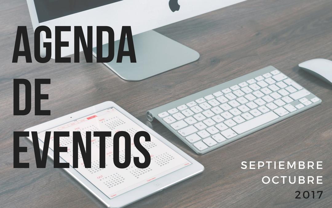 Agenda de eventos de marketing e investigación de mercados: Septiembre y octubre 2017