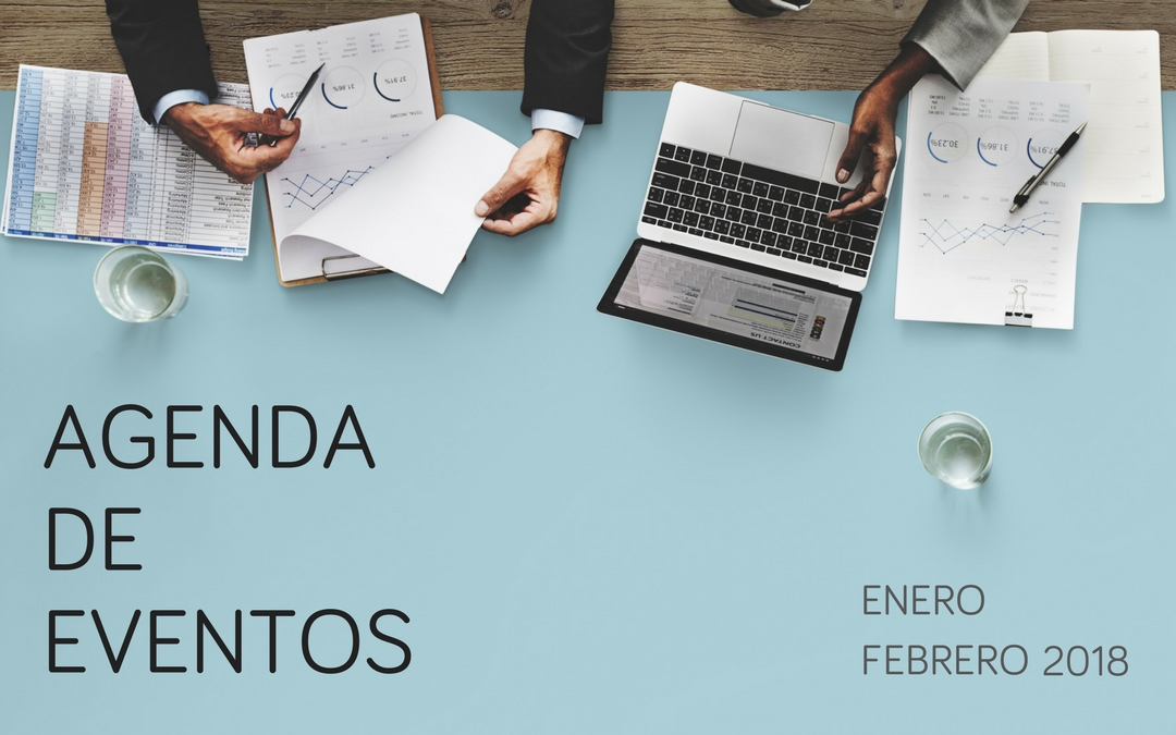 Eventos de marketing e investigación de mercados: Enero y febrero 2018