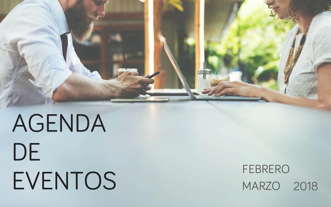 Agenda de eventos de marketing e investigación de mercados: Febrero y Marzo 2018