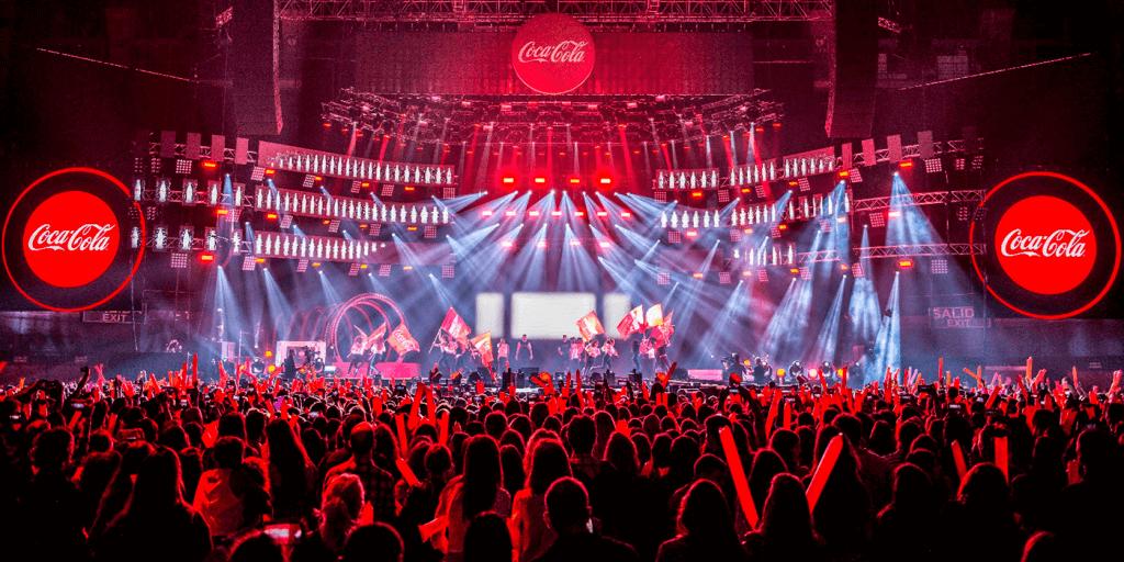 Evento Coca Cola