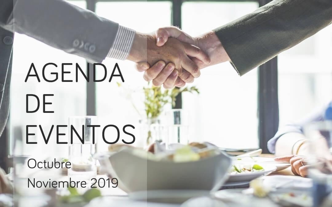 Agenda de eventos de marketing, investigación e innovación: octubre y noviembre de 2019