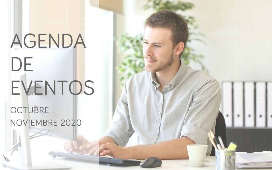 Agenda de eventos online y 'Covid Free': octubre y noviembre 2020
